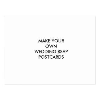Machen Sie Ihre eigene Hochzeit UAWG Postkarte