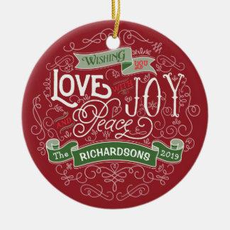Machen Sie Ihre eigene Keramik Ornament