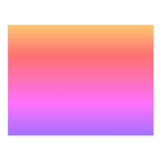 MACHEN Sie IHRE EIGENE POSTKARTE Pastellregenbogen