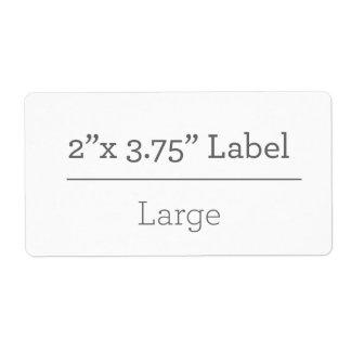 Machen Sie Ihren eigenen Aufkleber 8,5 x 11 Versandetikett