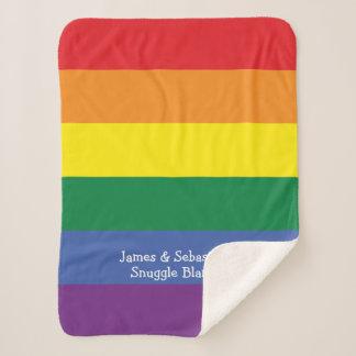 Machen Sie Ihren eigenen personalisierten Gay Sherpadecke