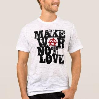 Machen Sie Kriegs-nicht Liebe T-Shirt