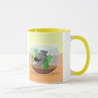 Machen Sie Kurven-voran Tasse fest
