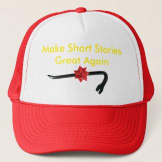 Machen Sie kurze Geschichten groß wieder Truckerkappe