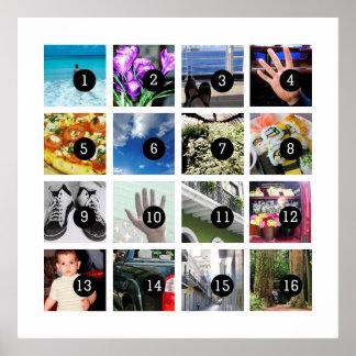 Machen Sie leicht Ihre eigene Foto-Kunst mit 16 Poster