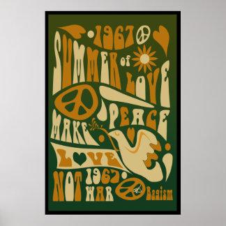 Machen Sie Liebe-nicht Kriegs-Plakat Poster