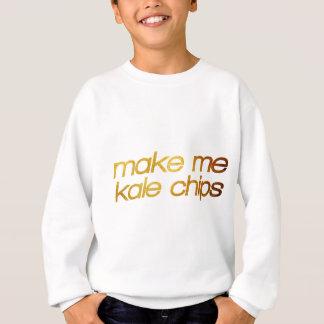 Machen Sie mich Kohlchips! Ich habe Hunger! Trendy Sweatshirt