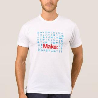 Machen Sie Muster T-Shirt