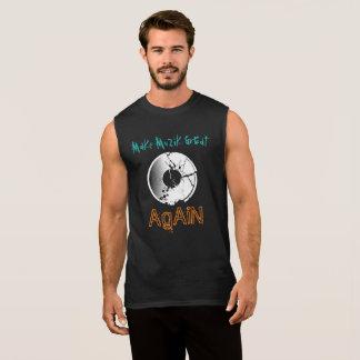 Machen Sie MuZiK groß wieder mit Ärmelloses Shirt