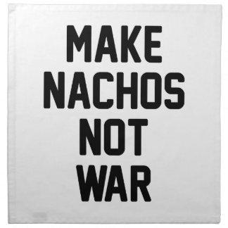 Machen Sie Nachos-nicht Krieg Serviette