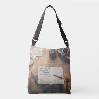 Machen Sie Reise-Zitat-Tasche weiter Tragetaschen Mit Langen Trägern
