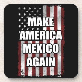 Machen Sie Shirt | Amerikas Mexiko wieder lustiges Getränkeuntersetzer