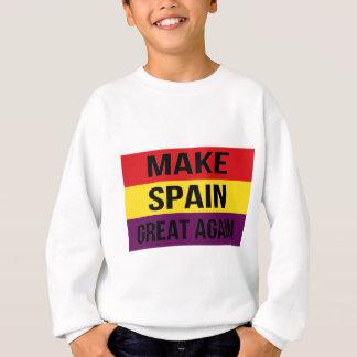 Machen Sie Spanien großen wieder - Bandera de Sweatshirt