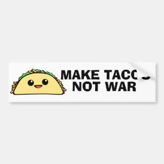 Machen Sie Tacos Autoaufkleber