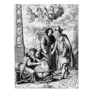 """Machina Coelestis"" durch Johannes Hevelius, Postkarte"