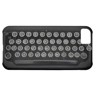 Machine à écrire vintage coque iPhone 5C