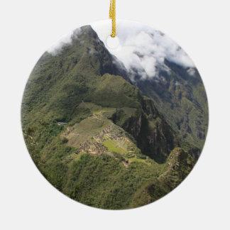 Machu Picchu Verzierung
