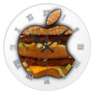 Macintosh-Entwurf Apple-Wanduhr Große Wanduhr