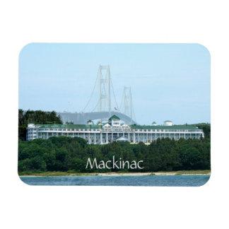Mackinac Brücken-großartiger Hotel-Magnet Magnet