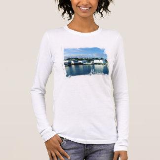 Mackinac Insel-langes Hülsen-T-Shirt Langarm T-Shirt
