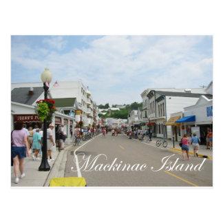 Mackinac Insel Postkarte
