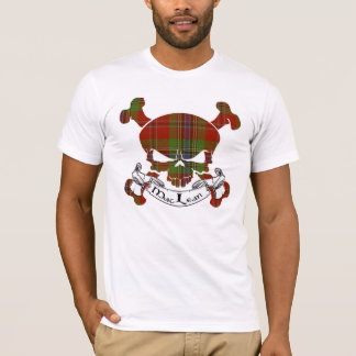 MacLean Tartan-Schädel T-Shirt