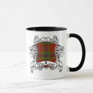 MacLean Tartan-Schild Tasse
