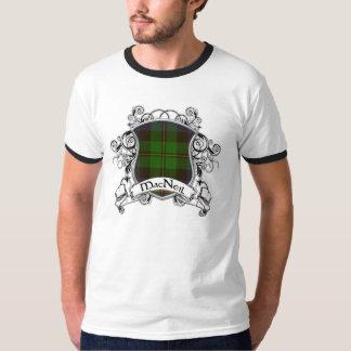 MacNeil Tartan-Schild T-Shirt