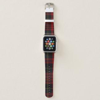 MacQueen Clan-kariertes Apple-Uhrenarmband Apple Watch Armband