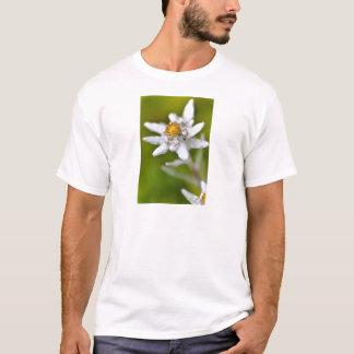 Macro de fleur d'edelweiss t-shirt