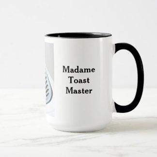 Madame Toast Master Coffee Mug Tasse