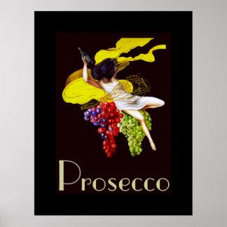 Madame vintage Posters de domestique de vin de Pro