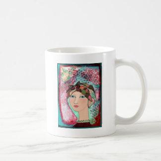 Mädchen am Frieden Kaffeetasse