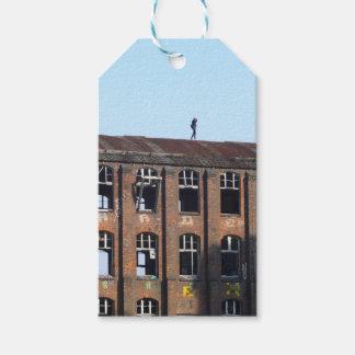 Mädchen auf dem Dach 02,2, verlorene Plätze Geschenkanhänger