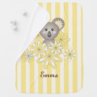 Mädchen-Baby-Tier-Namen-Gelb des Jungen-  Striped Baby-Decken