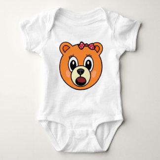 Mädchen-Bär Baby Strampler