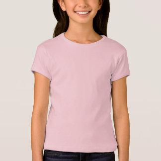 Mädchen Bella angepasster Babydoll-T - Shirt