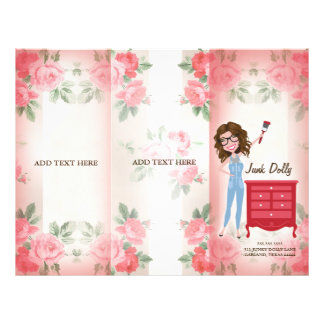 Mädchen-Broschüre des Kram-311 Flyer