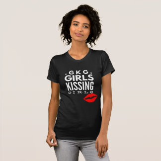 Mädchen des Gay Pride-LGBTQ, die Mädchen-T - Shirt