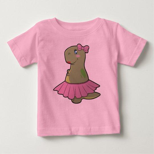 Mädchen-Dinosaurier T-Rex Shirt