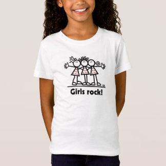Mädchen-Felsen! T-Shirt