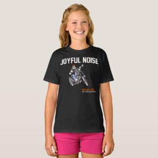 """Mädchen-""""frohe Geräusch-"""" heiliger T-Shirt"""