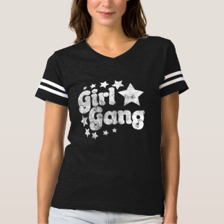 Mädchen-Gruppe T-shirt