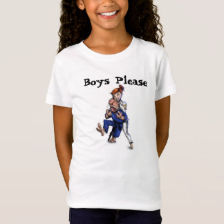 Mädchen jiu jitsu Mixed Martial Arts bjj T-Shirt