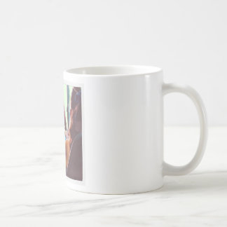 Mädchen Kaffeetasse