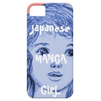 Mädchen manga Japan Barely There iPhone 5 Hülle