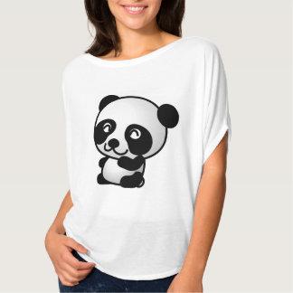 Mädchen-niedliches Panda-Shirt T-shirts