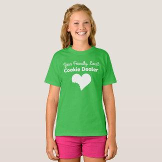 Mädchen-Pfadfinder-Plätzchen-Verkäufer-Shirt T-Shirt