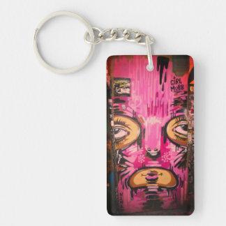 Mädchen-Pöbel Keychain Schlüsselanhänger