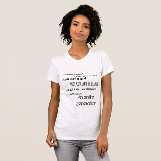 Mädchen-Powert-stück T-Shirt